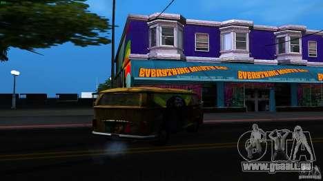 Comb do Bob and Rastaman pour GTA San Andreas vue de droite