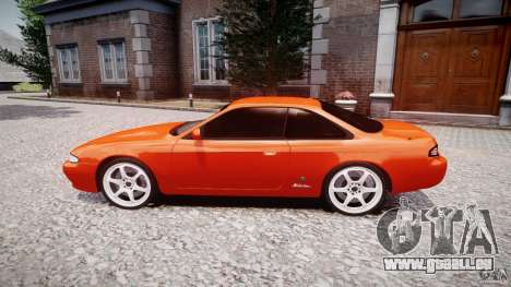 Nissan Silvia Ks 14 1994 v1.0 für GTA 4 Innenansicht