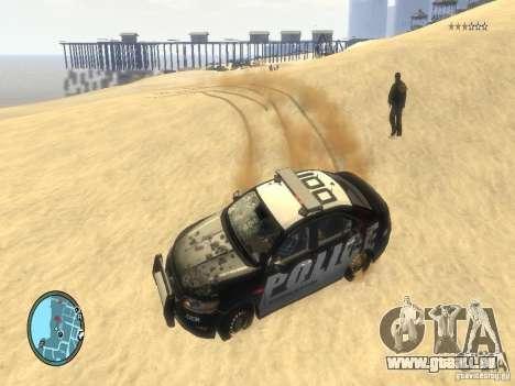 Ford Taurus Police für GTA 4 obere Ansicht