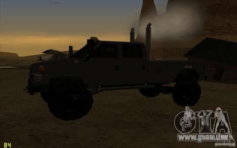 GMC Topkick Ironhide TF3 pour GTA San Andreas vue de droite