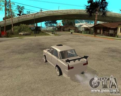 AZLK 412 à l'écoute pour GTA San Andreas laissé vue