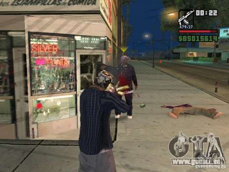 New Realistic Effects für GTA San Andreas dritten Screenshot