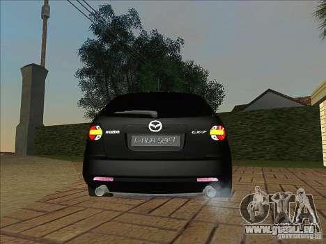 Mazda CX-7 pour GTA San Andreas vue de droite