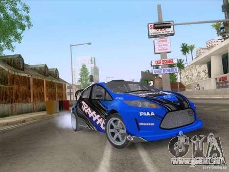 Ford Fiesta für GTA San Andreas Seitenansicht