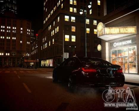 BMW 750Li 2013 pour GTA 4 est une vue de l'intérieur