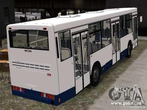 NefAZ-5299 10-15 für GTA 4 Rückansicht