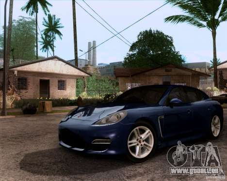 Porsche Panamera Turbo 2010 Final pour GTA San Andreas