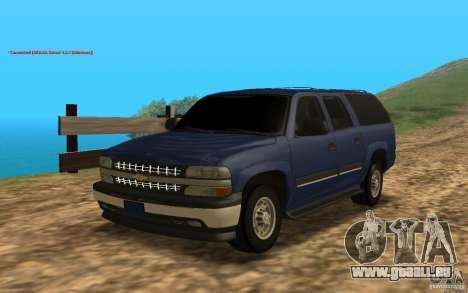 Chevrolet Suburban 2006 pour GTA San Andreas