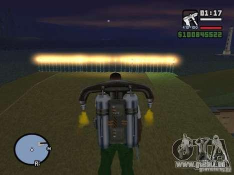 Night moto track V.2 pour GTA San Andreas deuxième écran