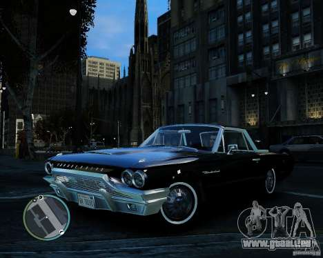 Ford ThunderBird 1964 pour GTA 4