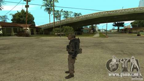 Captain Price pour GTA San Andreas quatrième écran