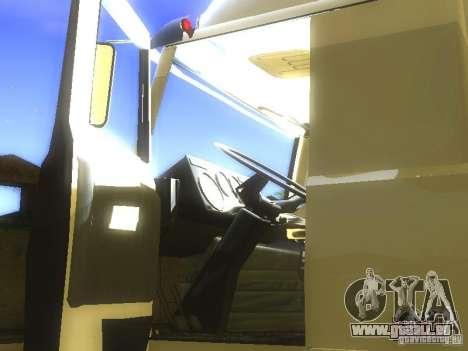 MAZ 5432 Turbo pour GTA San Andreas vue de côté