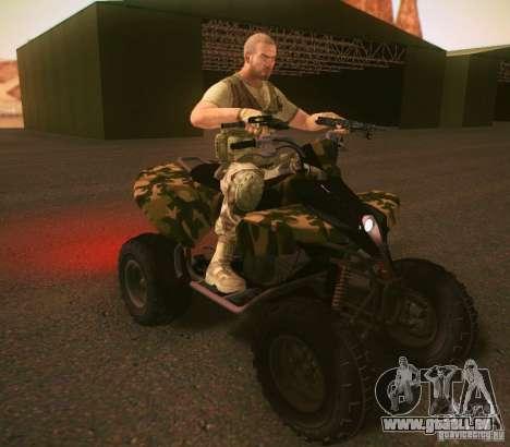 ATV 50 pour GTA San Andreas laissé vue
