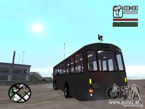 FBW Hess 91U für GTA San Andreas Rückansicht