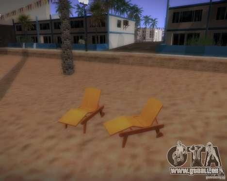 Nouveaux modèles de loisirs pour GTA San Andreas troisième écran