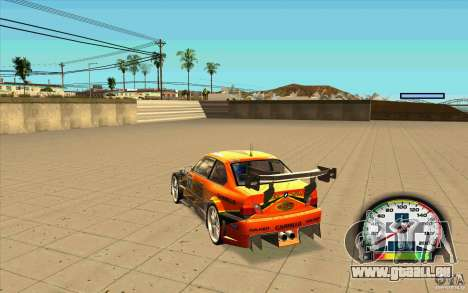 New Speedometer with transmissions pour GTA San Andreas