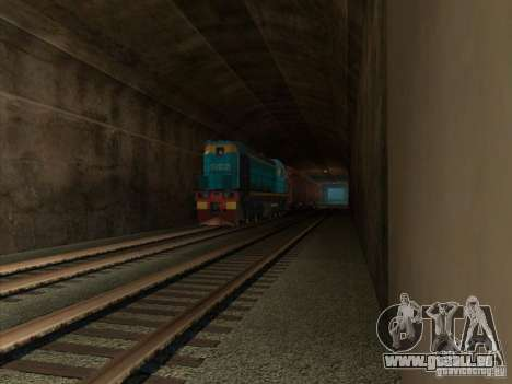 Tem2um-420 für GTA San Andreas zurück linke Ansicht