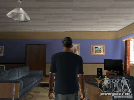 T-Shirt Hip Hop pour GTA San Andreas deuxième écran