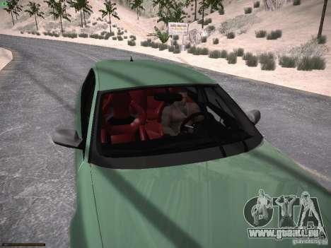 Audi RS3 2011 für GTA San Andreas Seitenansicht