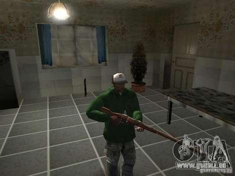 Pak intérieur armes V2 pour GTA San Andreas onzième écran