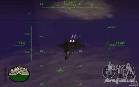 Vol dans la mésosphère pour GTA San Andreas quatrième écran