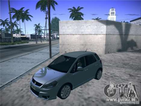Suzuki SX4 2012 pour GTA San Andreas sur la vue arrière gauche