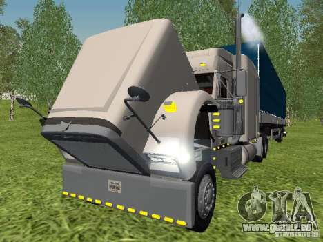 Freightliner FLD120 Classic XL Midride für GTA San Andreas Innenansicht