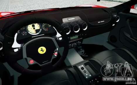 Ferrari F430 pour GTA 4 est une vue de l'intérieur
