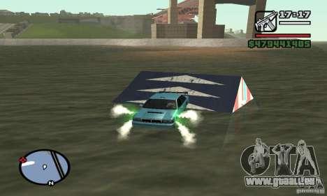 Le tremplin pour GTA San Andreas troisième écran