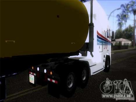 Freightliner Argosy Skin 3 pour GTA San Andreas sur la vue arrière gauche