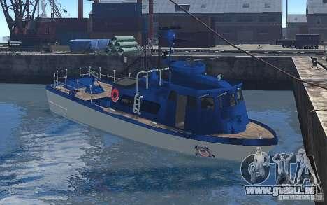 Coast Guard Patrol für GTA 4 linke Ansicht