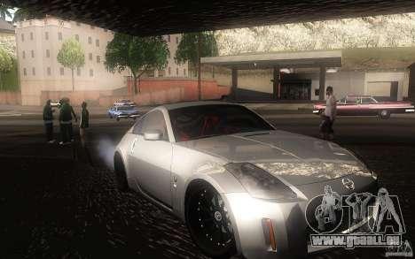 Nissan 350z Speedhunters pour GTA San Andreas laissé vue