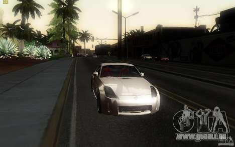 Nissan 350z Speedhunters für GTA San Andreas Rückansicht