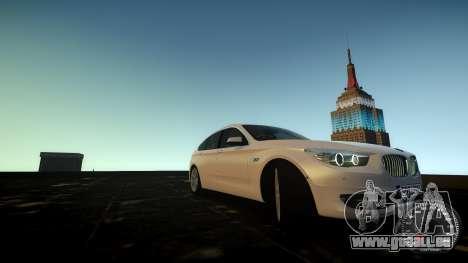 BMW GT F07 2012 GranTurismo pour GTA 4 est un côté