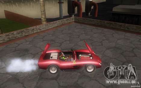Ferrari 250 Testa Rossa für GTA San Andreas Rückansicht