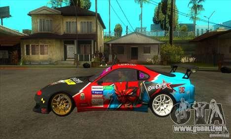 Toyota Supra Evil Empire für GTA San Andreas linke Ansicht