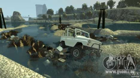 4x4 Trail The Reef für GTA 4 dritte Screenshot