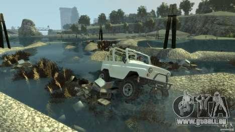 4x4 Trail The Reef pour GTA 4 troisième écran