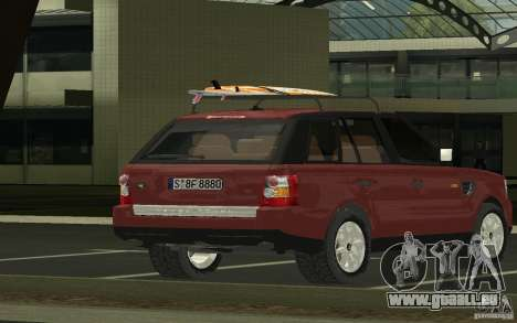 Land Rover Range Rover 2007 für GTA San Andreas linke Ansicht