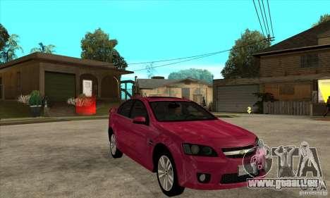 Chevrolet Lumina SS pour GTA San Andreas vue arrière