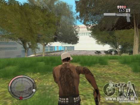 GTA IV HUD v4 by shama123 pour GTA San Andreas quatrième écran
