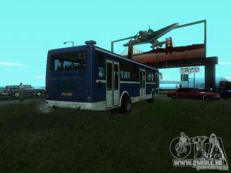 LIAZ 5256-26 für GTA San Andreas zurück linke Ansicht