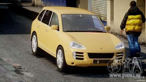 Porsche Cayenne S 2008 für GTA 4 Rückansicht