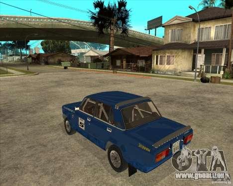 LADA 2105 VFTS Rallye für GTA San Andreas linke Ansicht