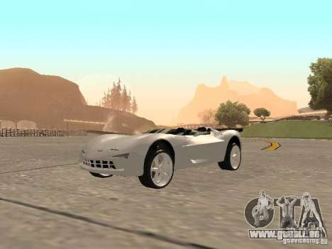 Chevrolet Corvette C7 Spyder für GTA San Andreas