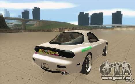 Mazda FD3S - Ebisu Style pour GTA San Andreas vue de côté