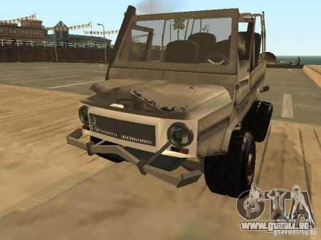 LuAZ 969 Offroad für GTA San Andreas Seitenansicht