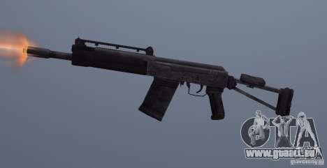 Izhmash Saiga-12K pour GTA San Andreas troisième écran