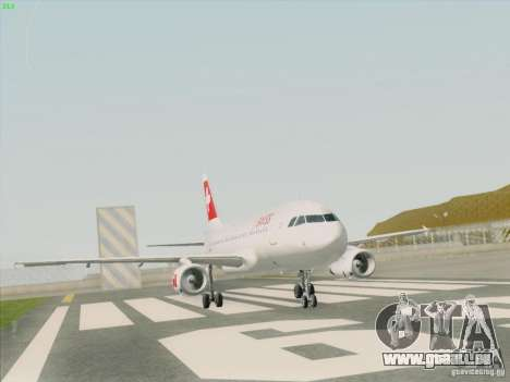 Airbus A319-112 Swiss International Air Lines pour GTA San Andreas