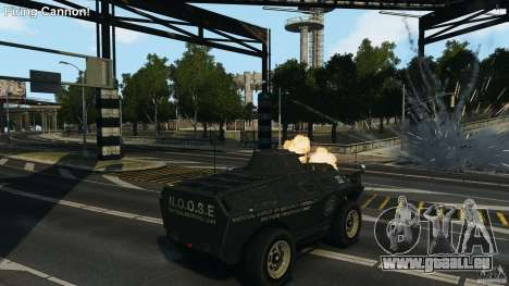 Tank Mod pour GTA 4 secondes d'écran